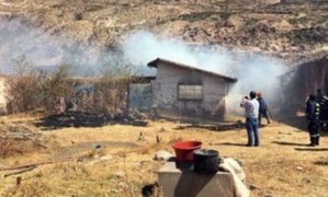 Cusco: niña de 3 años falleció en incendio registrado en su vivienda