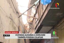 Varias casonas de Lima están en mal estado y podrían colapsar en cualquier momento