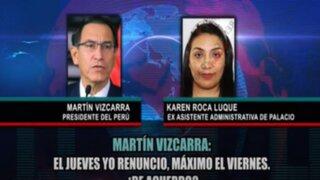 Martín Vizcarra: ¿qué dicen los audios que han generado una nueva crisis política?