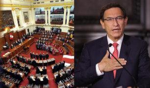 Congreso: Moción de vacancia contra Martín Vizcarra se debatirá y votará el viernes 18 de septiembre