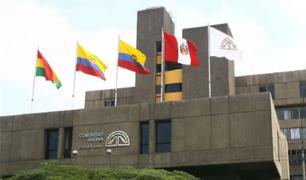 Comunidad Andina pide al Perú evitar acciones que afecten la gobernabilidad