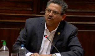 """Merino de Lama: """" Tenemos que preservar el respeto irrestricto a las FF.AA. y a la democracia"""""""