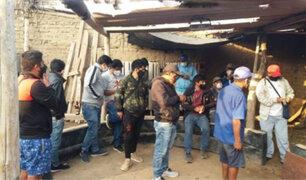 """Detienen a 35 personas durante operativos en distintas """"galleras"""" de La Libertad"""
