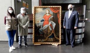 Ministerio de Cultura recuperó pintura virreinal sustraída de un convento del Cusco en 2009