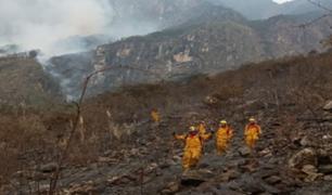 Cusco: controlan incendio forestal en el Santuario de Machu Picchu