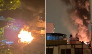 Pueblo Libre: incendio deja 8 familias damnificadas y 3 afectados