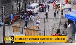 Batalla campal entre peruanos y venezolanos deja un muerto en San Luis