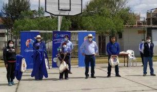 Cajamarca: comerciantes de mercado itinerante promueven uso de bolsas de tela