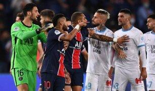 Con violencia y Neymar desatado PSG cayó 1-0 ante Marsella