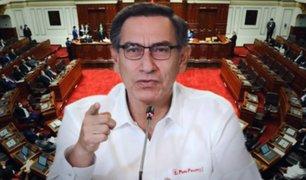 Día decisivo: Congreso concluye debate sobre moción de vacancia en contra de Martín Vizcarra