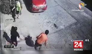 Arequipa: cámara capta momento en que un hombre es atropellado