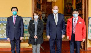 Canciller López reitera que obtención de vacuna contra covid-19 es un objetivo nacional