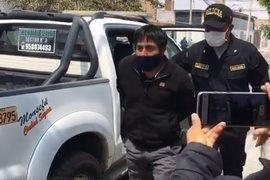 Alcalde de Monsefú fue detenido por manejar en estado de ebriedad