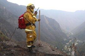 Machu Picchu: bomberos forestales están alertas ante eventual rebrote de incendio