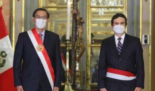 Ministro Incháustegui dice que personas de Acción Popular lo contactaron para formar parte de un gabinete de transición