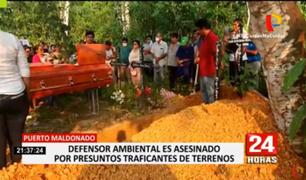 Asesinan a balazos a conocido defensor ambiental en Madre de Dios
