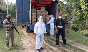 San Martín: entregan más de 120 toneladas de alimentos a comunidades indígenas