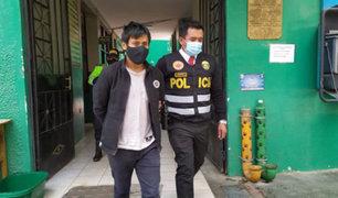 Huancayo: capturan sujeto que extorsionaba a menor con publicar videos íntimos