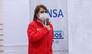 Pilar Mazzetti se pronunció sobre uso de medicamentos COVID-19
