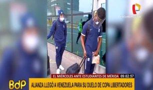 Copa Libertadores: Alianza Lima ya está en Venezuela para enfrentar a Estudiantes de Mérida
