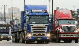 Sur del Perú: anuncian huelga conductores de carga pesada por aumento de precio en peajes