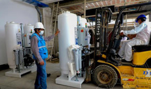 Huánuco: comenzaron trabajos de instalación de planta de oxígeno en hospital Valdizán