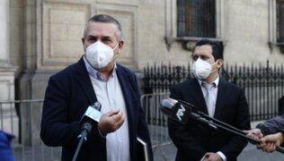 Daniel Urresti se disculpa y admite que se excedió al hablar sobre Vizcarra