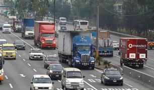 'Pico y placa' para camiones: restricción vehicular reinicia mañana en Panamericana Sur
