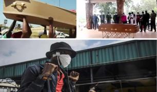 Sudáfrica: sepultureros inician huelga en plena emergencia sanitaria