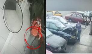 Delincuentes roban autopartes a plena luz del día