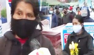 """Comerciantes de La Parada realizan marcha para ser trasladados a la """"Tierra Prometida"""""""