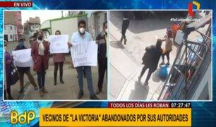 La Victoria: comerciantes de Av. San Pablo denuncian que son víctimas de delincuentes y fiscalizadores