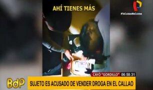 Callao: 'Lobos de Bocanegra' repartían droga a penales