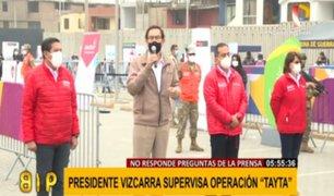 VMT: Vizcarra prefirió evitar a la prensa en operación 'Tayta'