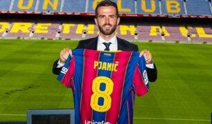 Barcelona presentó a su mejor contratación de la temporada: Miralem Pjanic