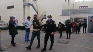 Callao: PNP capturó a ocho integrantes de la banda 'Los patineros del puerto'