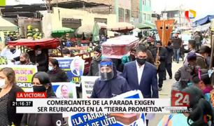 Comerciantes de La Parada dan plazo para ser reubicados o ingresarán a la fuerza al GMML