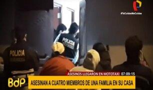 Barranca: familia asesinada habría conocido a sus victimarios