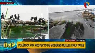 La Punta: moderno muelle para yates será de acceso público