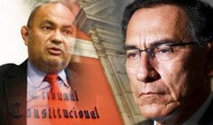 Roberto Pereira ejercerá la defensa de Vizcarra ante el Pleno del Congreso