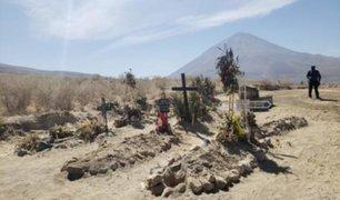 Arequipa: colapso de camposantos provocó aparición de cementerio informal en Cayma