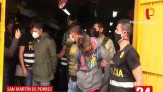 Con ayuda de drones, PNP frustra asalto a minimarket y capturan a dos delincuentes: SMP