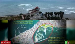La Punta: Controversia por propuesta para construir moderno muelle para yates