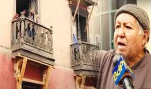 Casonas del Centro de Lima son un peligro constante para sus habitantes y vecinos