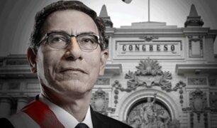 Martín Vizcarra ante el Congreso: Lo único ilegal comprobado son las grabaciones clandestinas