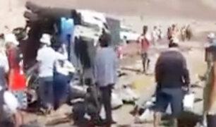 Nazca: sujetos se apoderaron de las latas de aceite de un camión despistado
