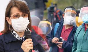 """Pilar Mazzetti: """"Salir en mancha el domingo es suicida"""""""
