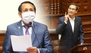 """Carlos Almerí: """"Sentimos que el presidente Vizcarra se ha escudado en una defensa jurídica"""""""