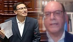 César Landa: la presencia del Presidente en el Congreso ha sido importante