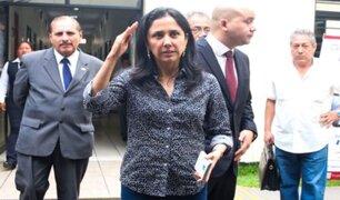 Caso Gasoducto: revocan comparecencia restringida a Nadine Heredia